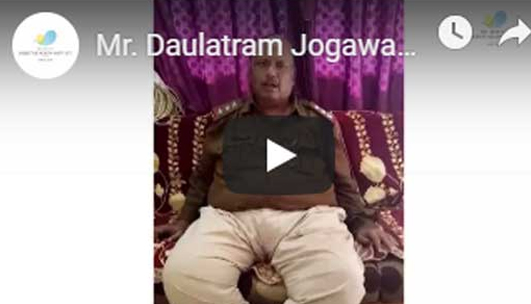 Video Testimonial of Mr Daulatram Jogawat - DHI